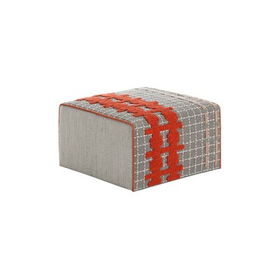 Bandas Space Small E Ottoman Upholstery: Gray