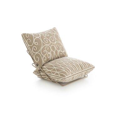Cadeneta Valentino Sillon Lounge Chair Upholstery: Beige