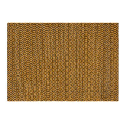 Lana Handmade Orange Area Rug Rug Size: 57 x 711