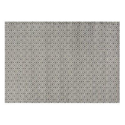 Lana Bari Handmade Gray Area Rug Rug Size: 57 x 711