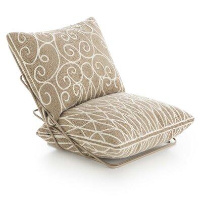 Cadeneta Valentino Sillon Side Chair Upholstery: Beige