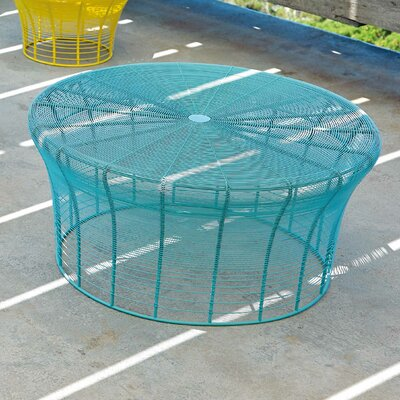 Aram High Table Color: Turquoise