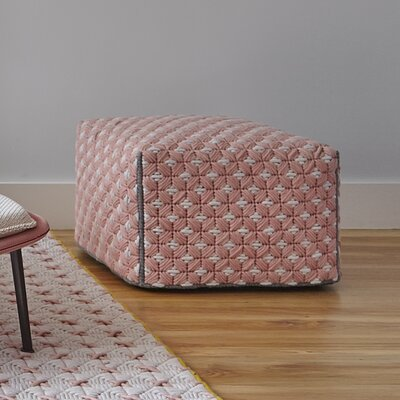 Silai Small Ottoman Upholstery: Rose