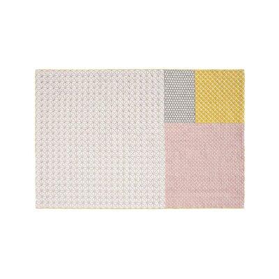 Silai Handmade Rose Area Rug Rug Size: 57 x 711