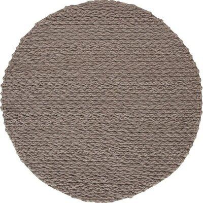 Trenzas Handmade Taupe Area Rug
