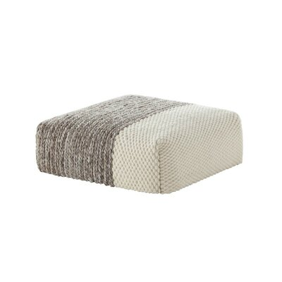 Mangas Space Pouf Upholstery: Ivory