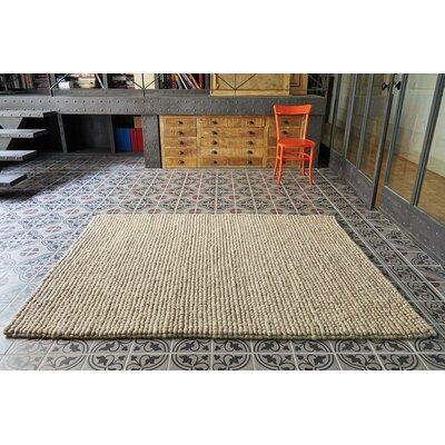 Lana Hoot Handmade Beige Area Rug Rug Size: 910 x 132