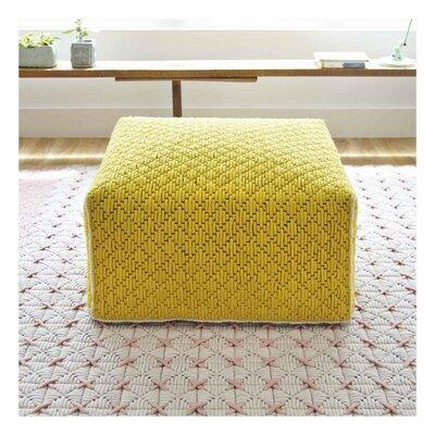 Silai Big Ottoman Upholstery: Yellow
