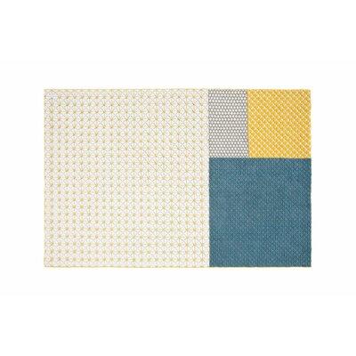 Silai Handmade Blue Area Rug Rug Size: 68 x 910