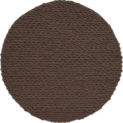 Trenzas Handmade Brown Area Rug
