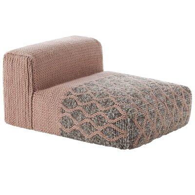 Mangas Space Module Rhombus Floor Pillow Upholstery: Pink