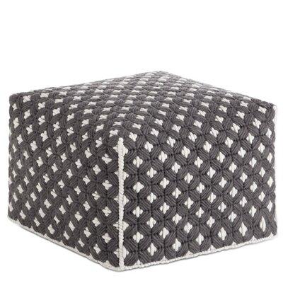 Silai Small Ottoman Upholstery: Dark Grey