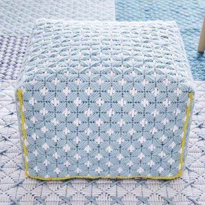 Silai Small Ottoman Upholstery: Celadon