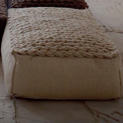 Trenzas Ottoman Upholstery: Marron