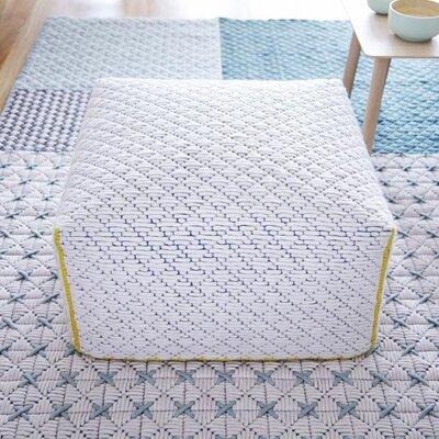 Silai Small Ottoman Upholstery: White
