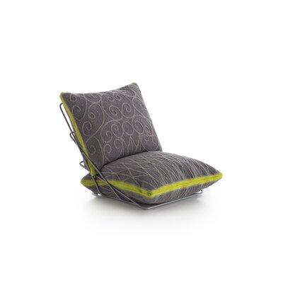 Cadeneta Valentino Sillon Lounge Chair Upholstery: Gray