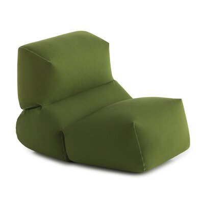 Grapy Pouf Fabric: Green