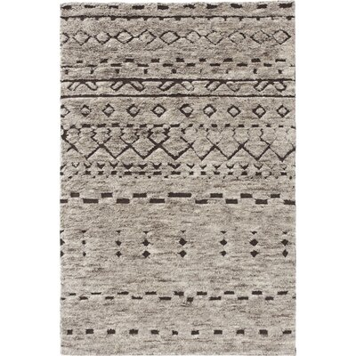 Tribal Chic Hand Knotted Bereber Area Rug Rug Size: 68 x 910