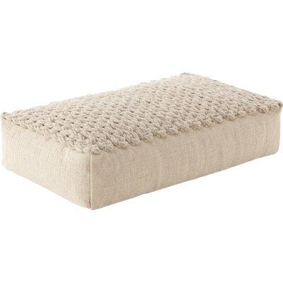 Trenzas Ottoman Upholstery: Ivory