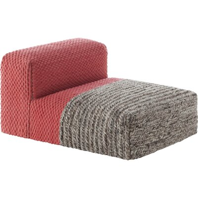 Mangas Chaise Lounge Upholstery: Coral