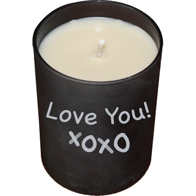 Lavender Cotton Chalkboard Jar Candle 11302