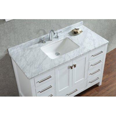 Fritz 48 Single Bathroom Vanity with Mirror