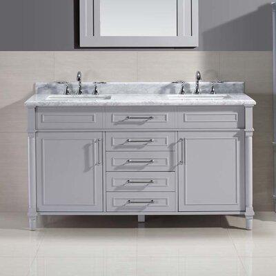 Ani 60 Double Bathroom Vanity Set