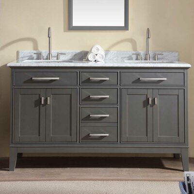 Danny 60 Double Bathroom Vanity Set