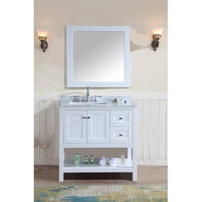 Emily 36 Single Bathroom Vanity Set with Mirror