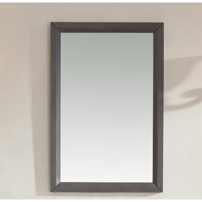 Maple Grey Solid Wood Mirror