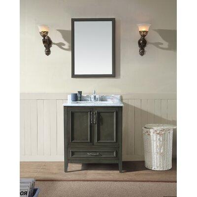 Jude 30 Single Bathroom Vanity Set Base Finish: French Gray