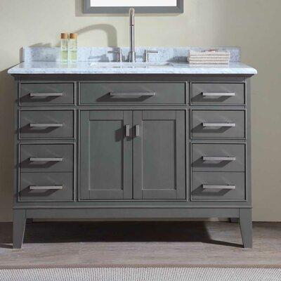 Danny 48 Single Bathroom Vanity Set Finish: Maple Gray
