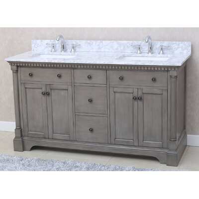 Stella 61 Double Bathroom Vanity Set