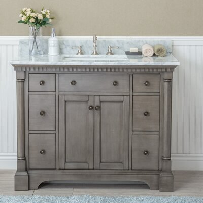 "Stella 42"" Single Bathroom Vanity Set"