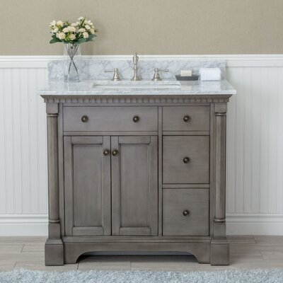"Stella 37"" Single Bathroom Vanity Set"