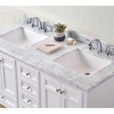 60 Double Sink Bathroom Vanity Set
