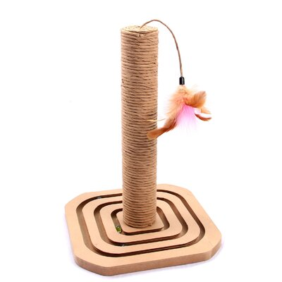 Cat Toy Scratching Post