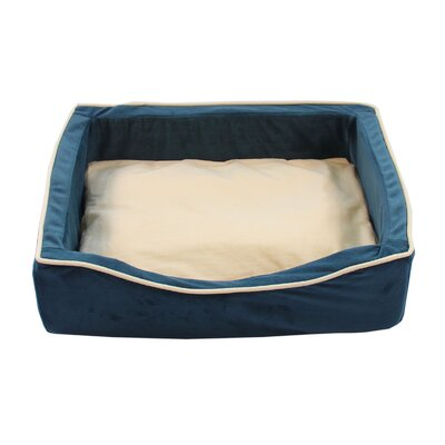 Soft Pet Bed Size: 5.91 H x 21.65 W x 15.75 D