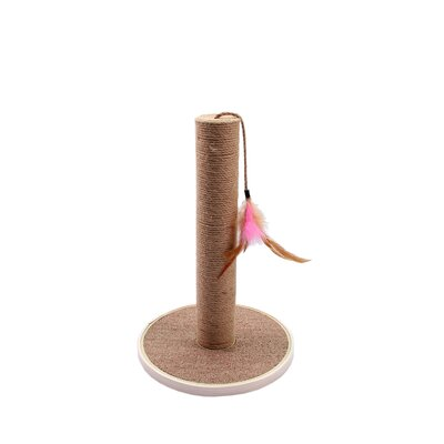 Coates Cat Scratching Post with Toy