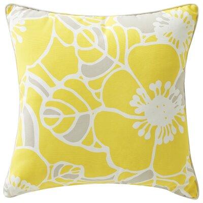 Rapee Outdoor Throw Pillow Color: Hibiscus Zest