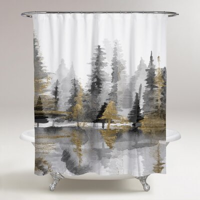 Rocheleau Reflection III Shower Curtain