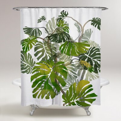 Karrissa Jungle Tree Shower Curtain