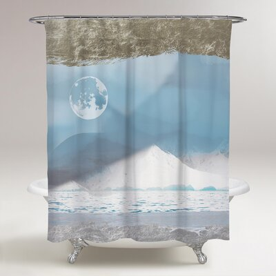 Viva La Luna Ethereal Shower Curtain
