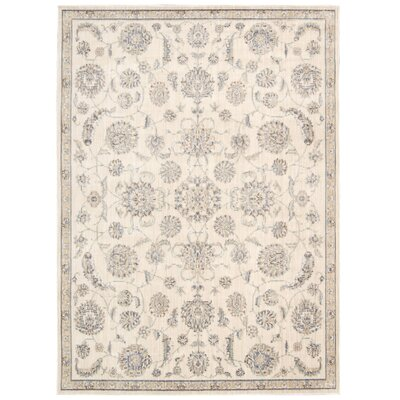 Marseille Ivory Area Rug Rug Size: Rectangle 79 x 99