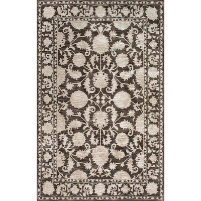Spurlock Vintage Brown Area Rug Rug Size: Rectangle 78 x 96