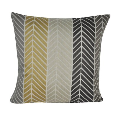 Tennison Herringbone Throw Pillow