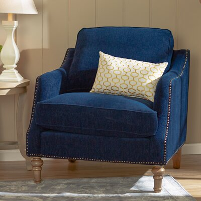 Vessot Armchair Color: Indigo