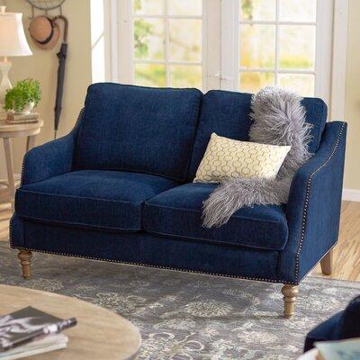 Lavande Loveseat Upholstery: Indigo