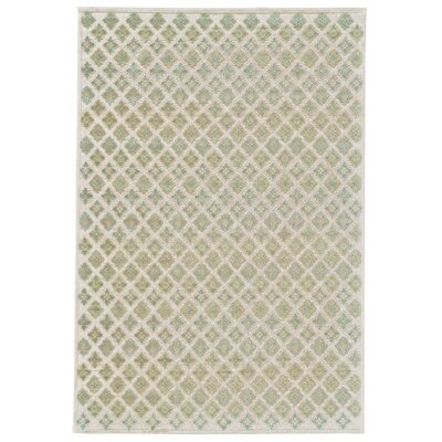 Primeaux Cream/Citrine Area Rug Rug Size: Rectangle 22 x 4