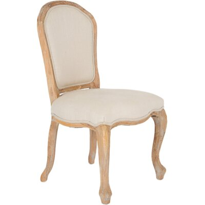 Capucine Side Chair (Set of 2) Finish: Deep Oatmeal